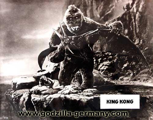 King Kong es muy fuerte